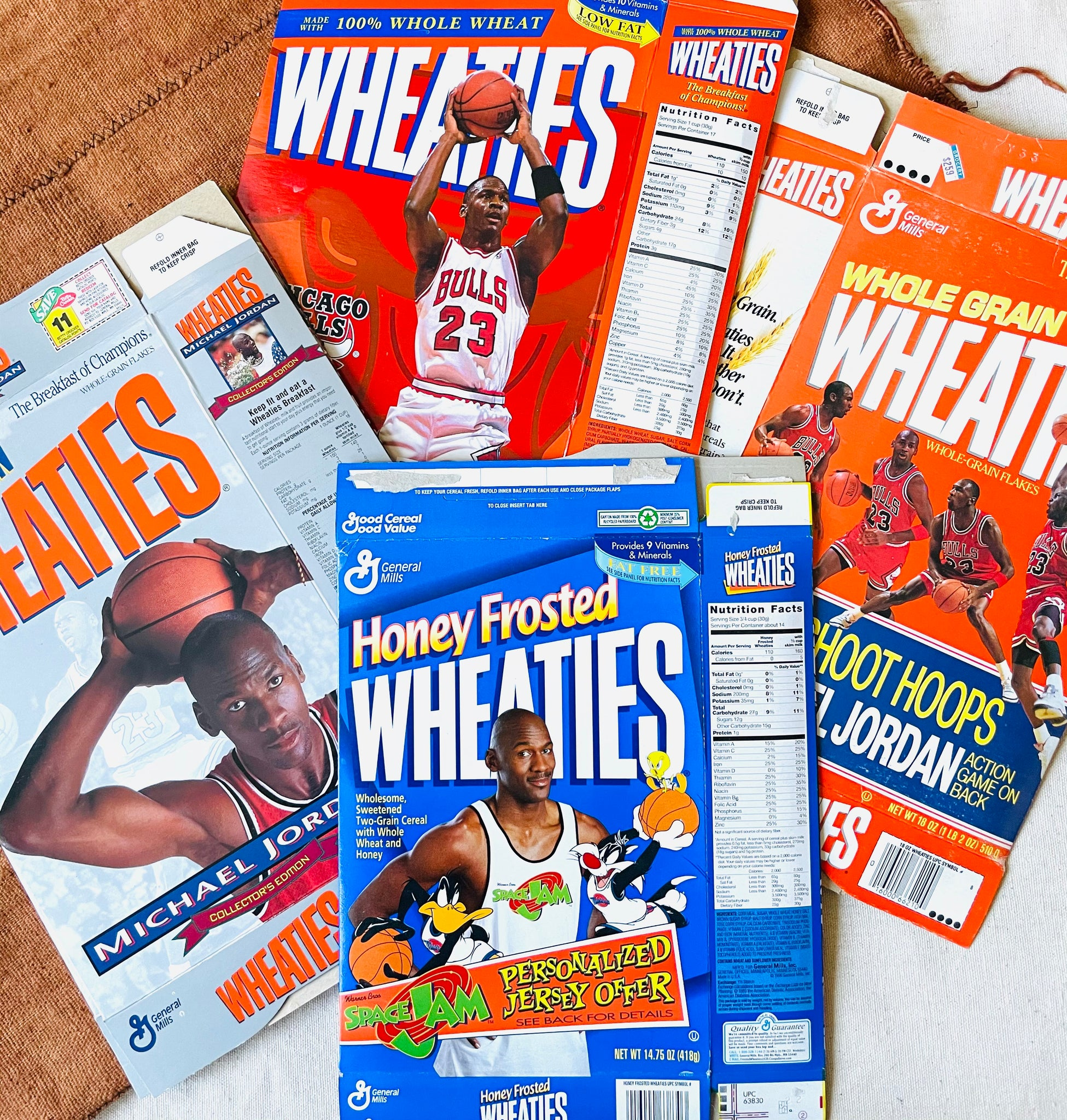 "Vintage Assorted Michael Jordan ""Wheaties"" Cereal Boxes (Please Select)"