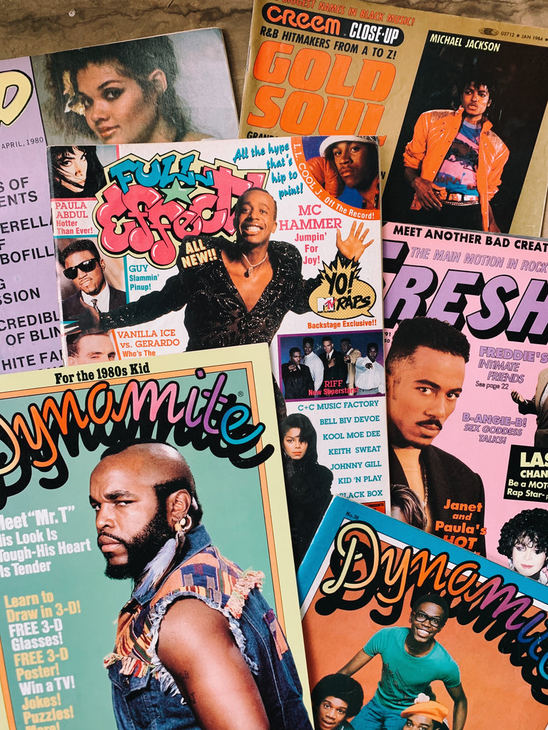 Vintage 1980's-90's Hip-Hop, Pop & TV Teen Magazines (Please Select)