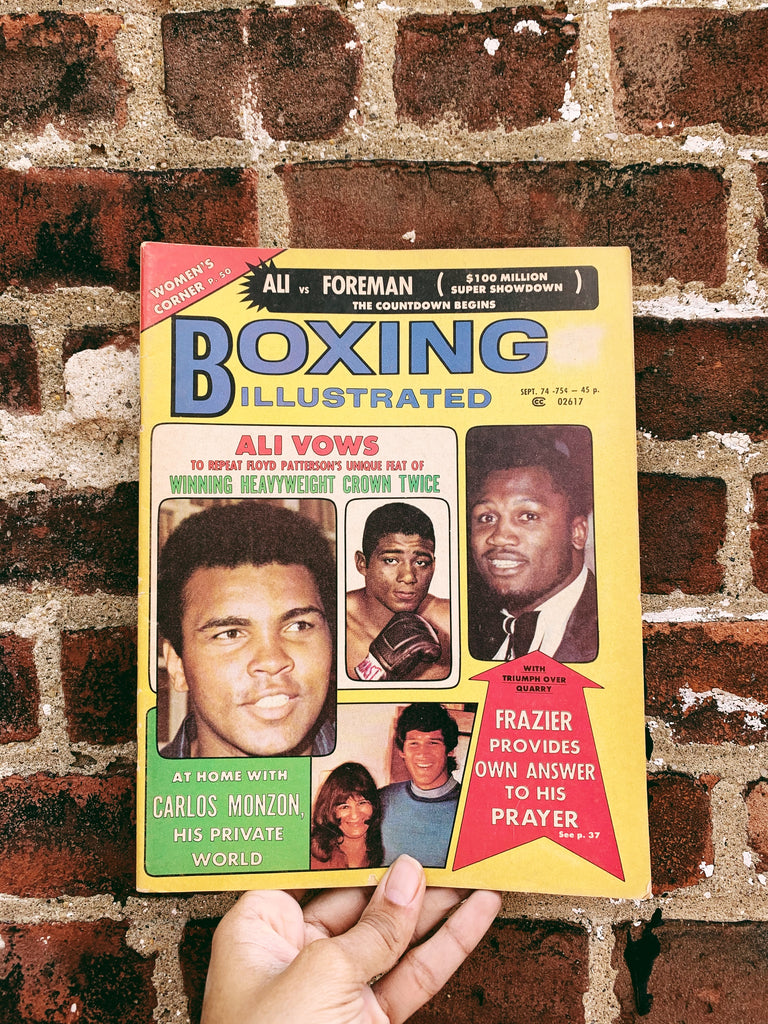 Vintage 1970's Boxing Illustrated // Muhammad Ali Cover Story (Please Select)