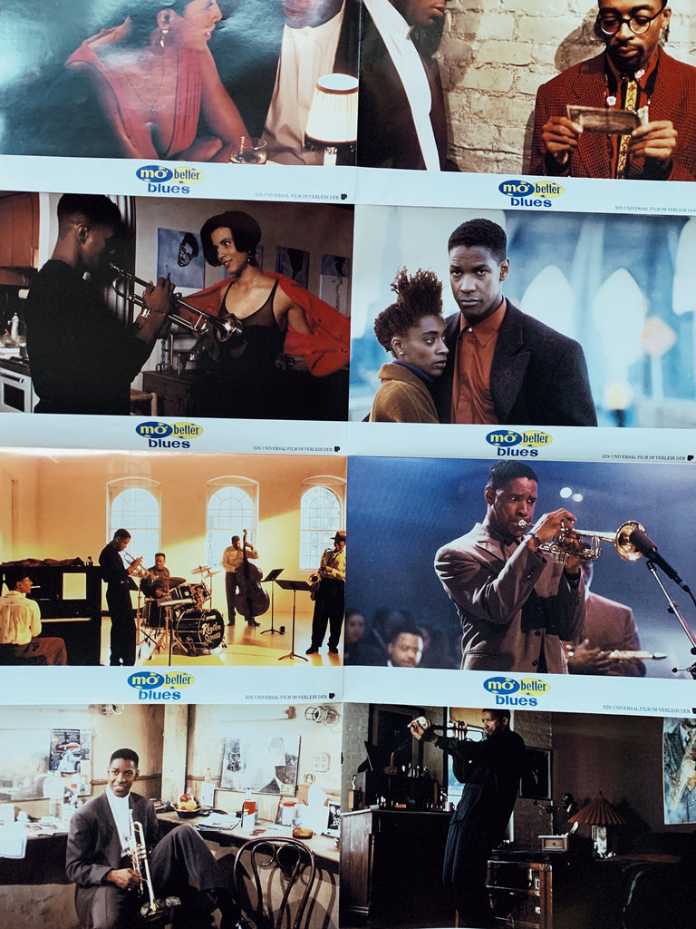 "Vintage Spike Lee ""Mo Better Blues"" Promotional Lobby Posters (1990)"