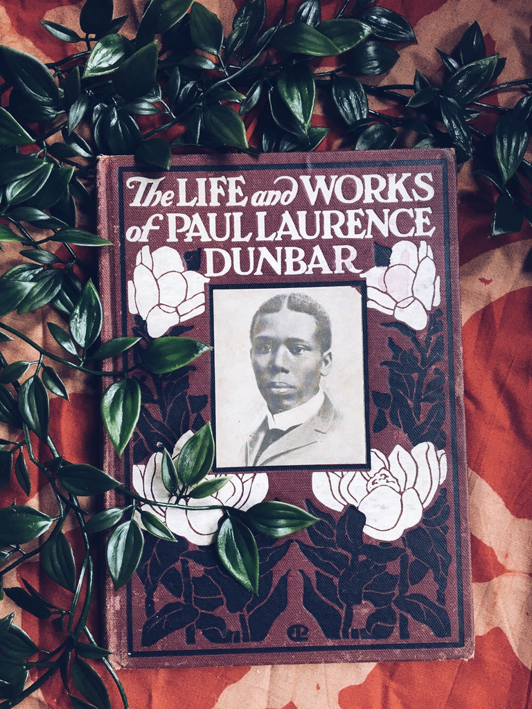 "Antique Clothbound ""The Life and Works of Paul Laurence Dunbar"" by Paul Laurence Dunbar (First Edition, 1907)"