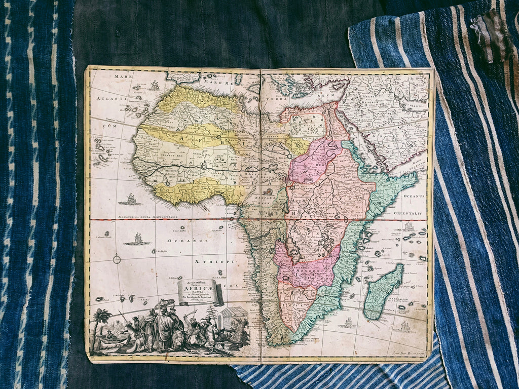 Antique Map of Africa (1697)