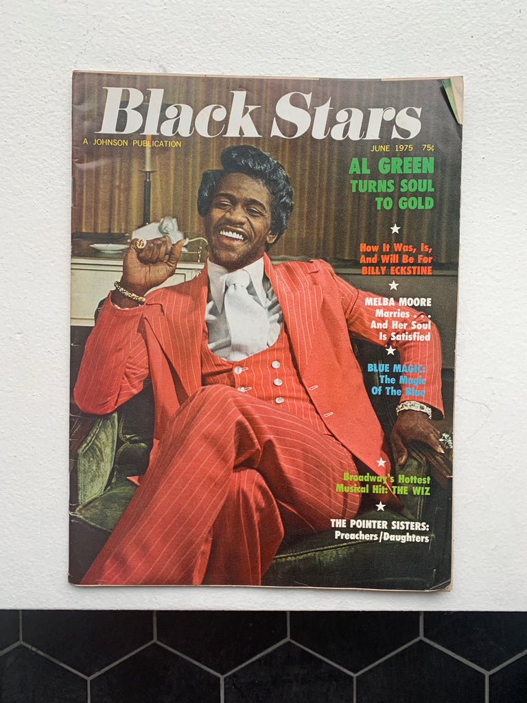 Vintage 1970's Black Stars Magazine Issue (Select Issues)