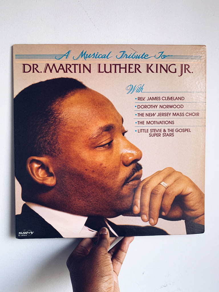 "Vintage ""A Musical Tribute To Dr. Martin Luther King Jr."" Vinyl LP (1985)"