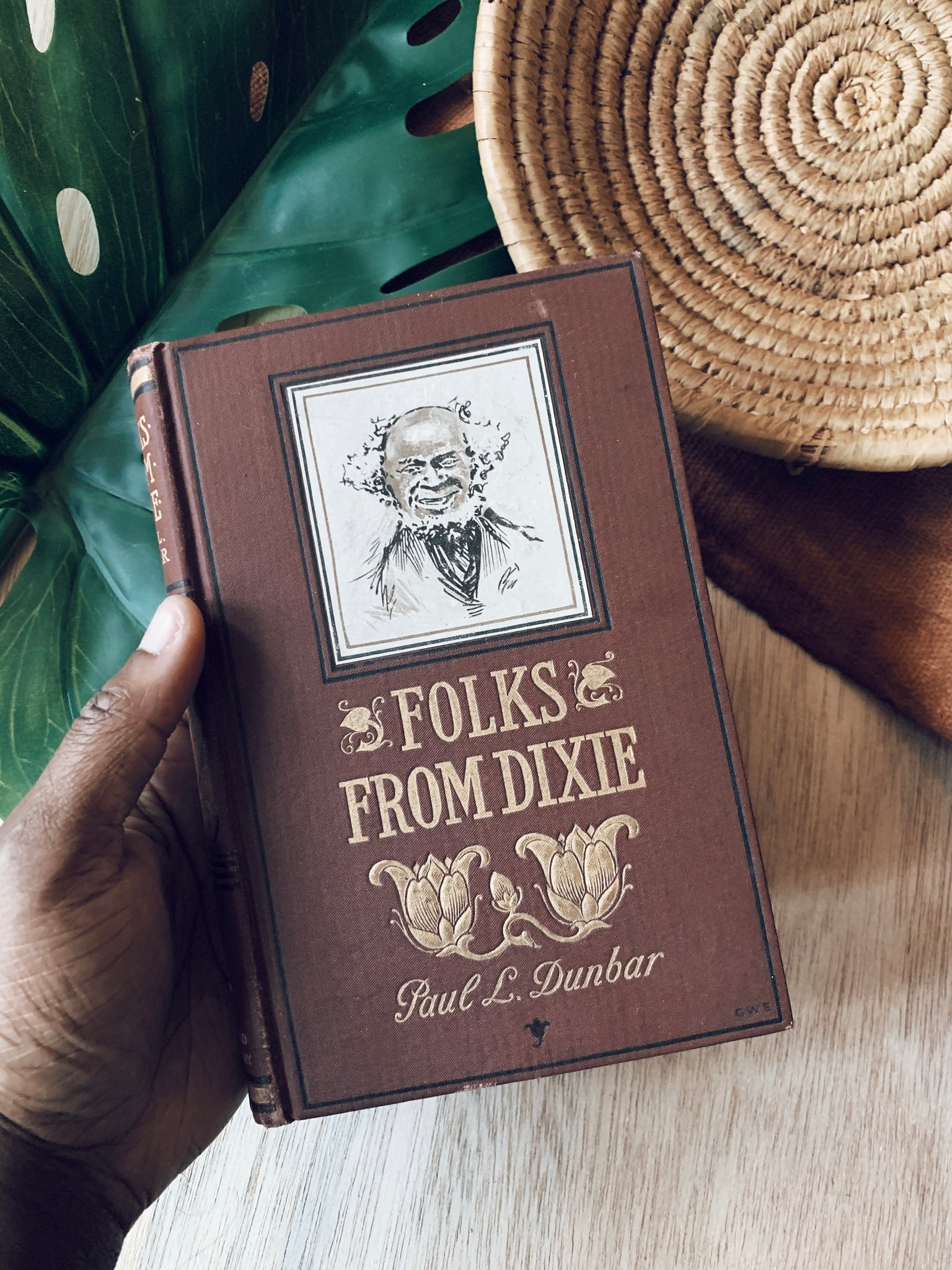 "Antique Clothbound ""Folks From Dixie"" by Paul Laurence Dunbar (1898)"