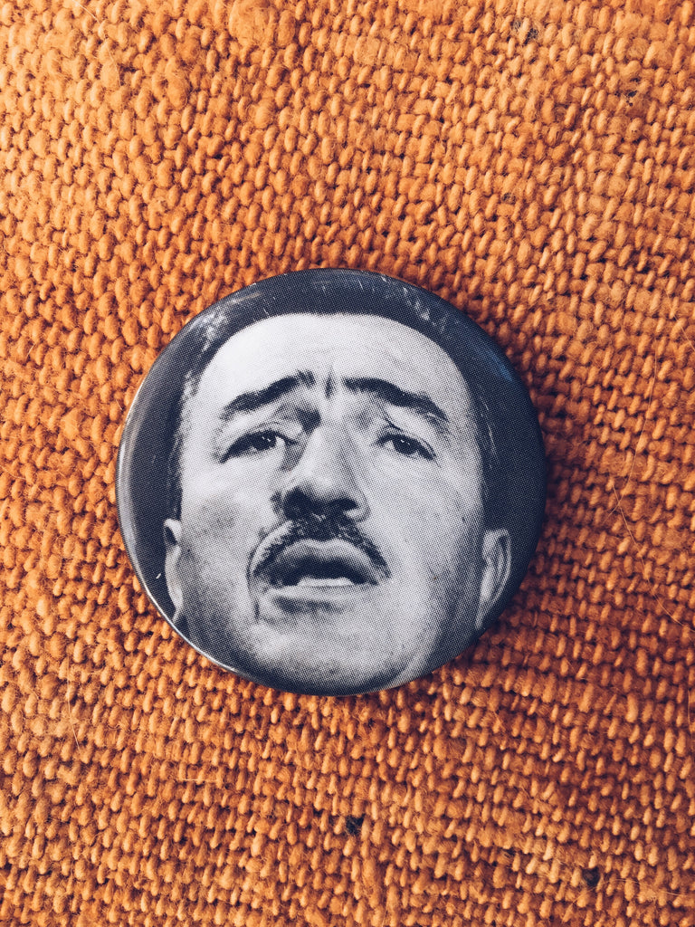 Vintage 1960's Adam Clayton Powell Pinback Buttons (Select One)