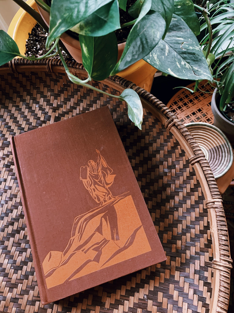"Vintage Hardcover ""Moses: Man of The Mountain"" by Zora Neale Hurston (First Edition, 1939)"