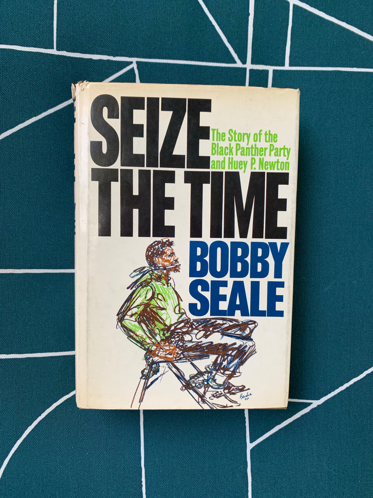 "Vintage Hardcover ""Seize The Time"" by Bobby Seale (1970)"