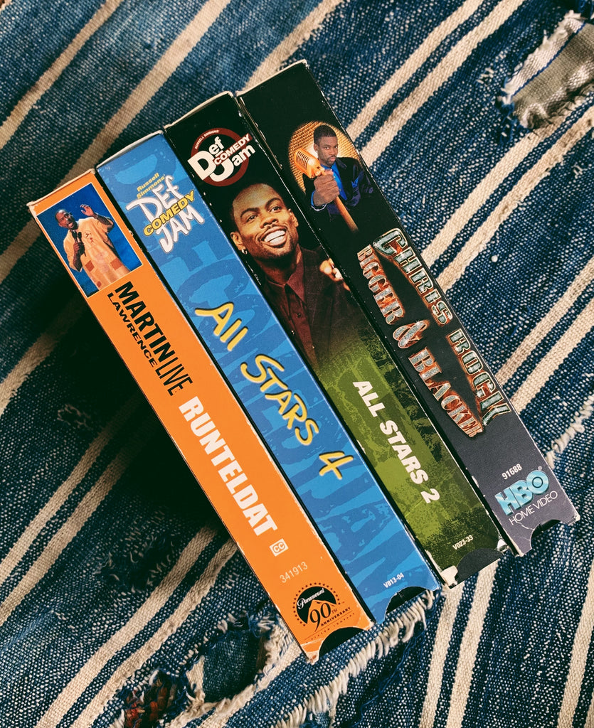 Vintage VHS Comedy Classics (Please Select)