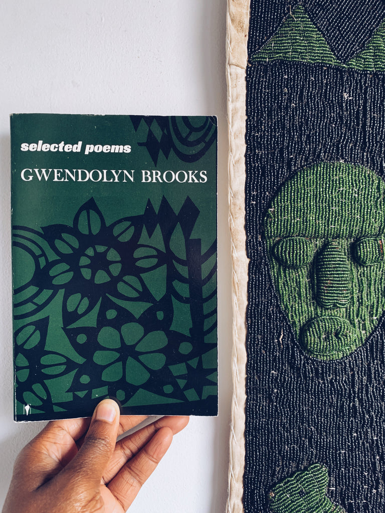 "Vintage SIGNED Paperback ""Selected Poems"" by Gwendolyn Brooks (1963)"