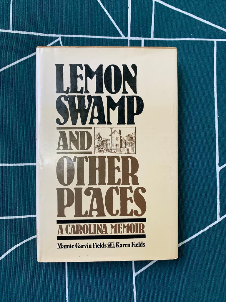"Vintage Hardcover ""Lemon Swamp And Other Places"" by Mamie Gavin Fields et al. (1983)"