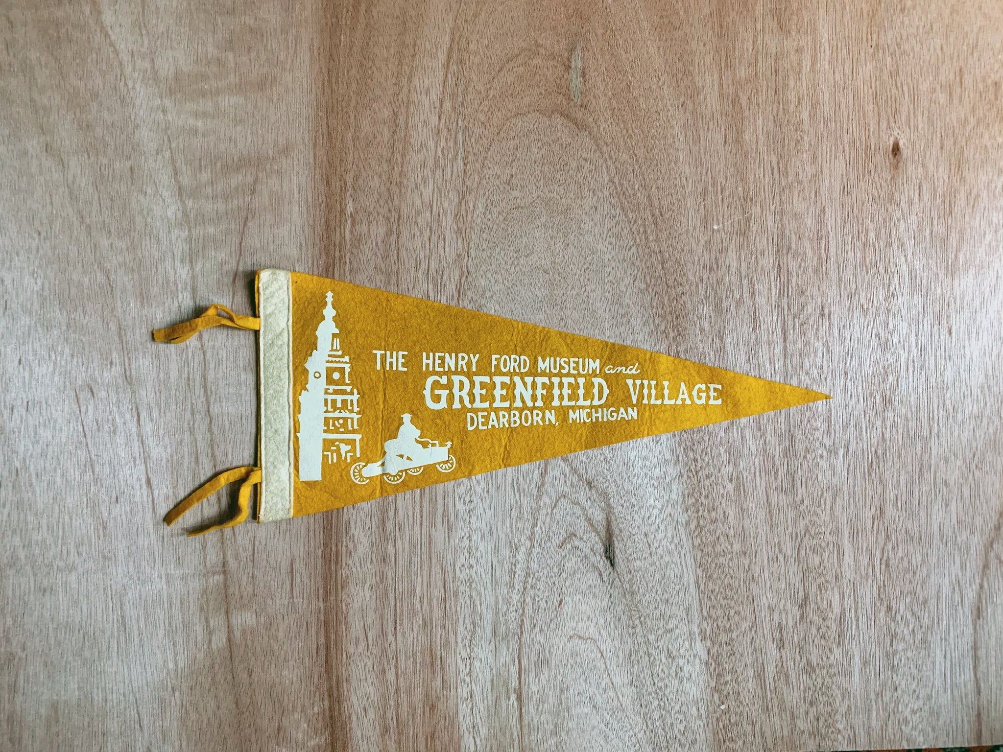 Vintage 1950's-1970's Travel Pennant (Please Select)