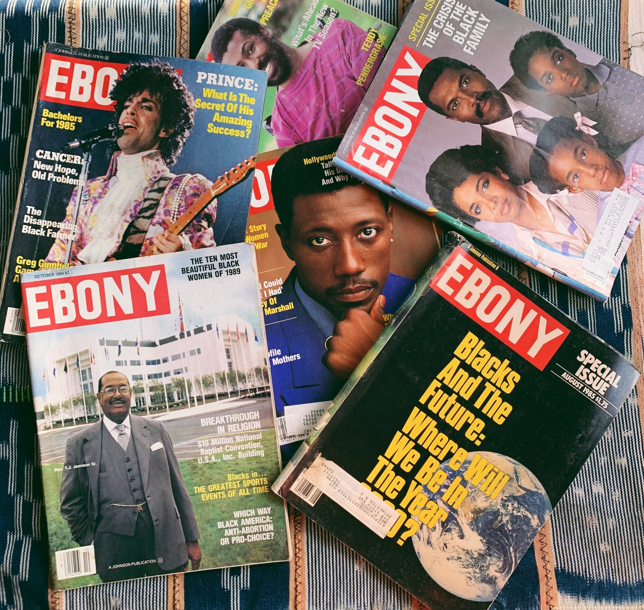 Vintage Ebony Magazine // Assorted Issues (Please Select)