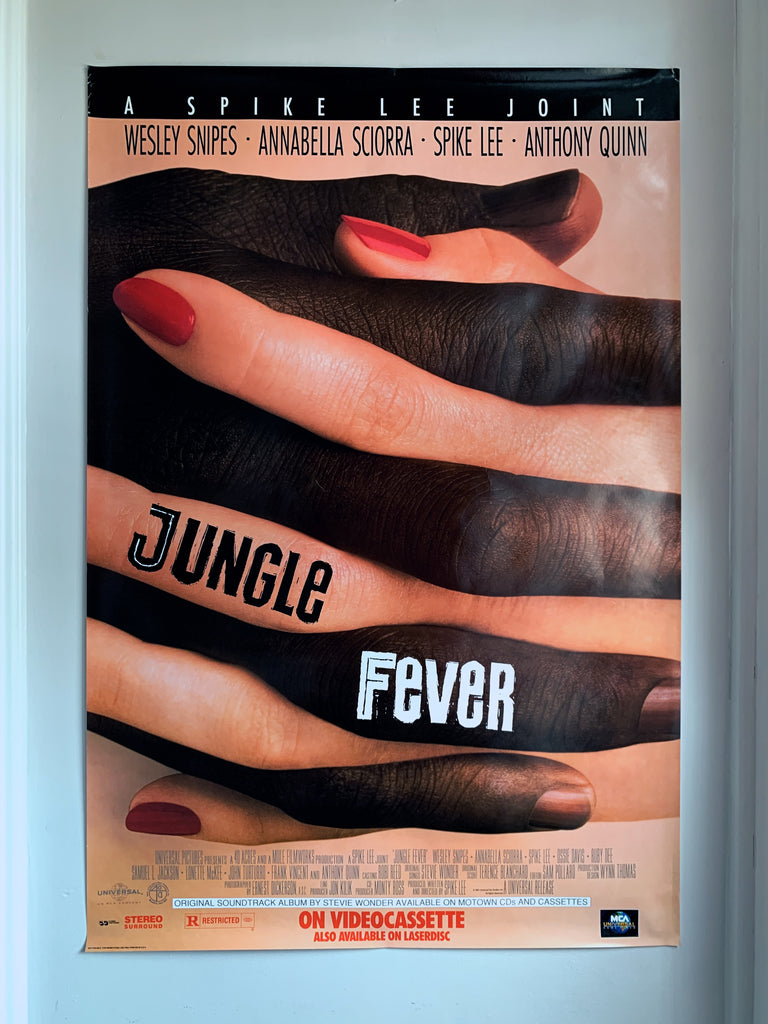 "Vintage Original ""Jungle Fever"" Large Film Poster (1991)"