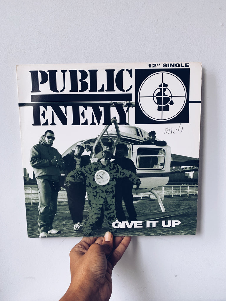 "Vinyl Single // ""Give It Up"" - Public Enemy (1994)"