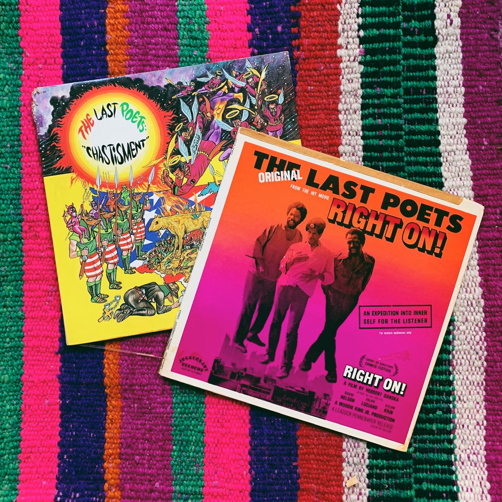Vinyl LP //  The Last Poets Records (Please Select)