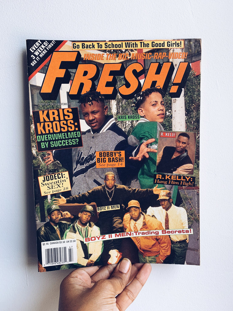 Fresh Magazine // Hip Hop Teen Magazine 1980's (Please Select)