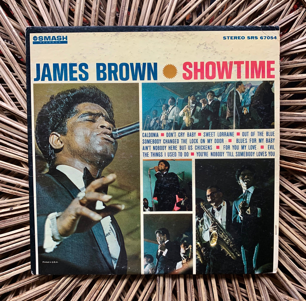Vintage James Brown - Showtime Vinyl LP