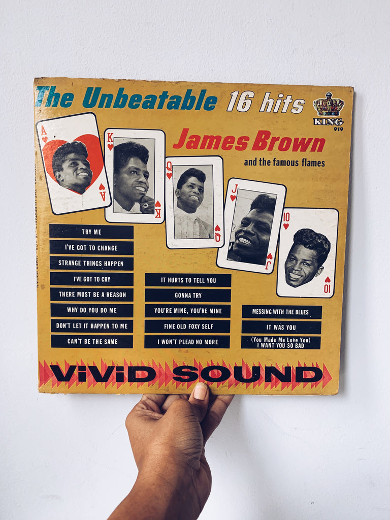 "Vinyl LP // ""The Unbeatable 16 Hits"" - James Brown (1964)"