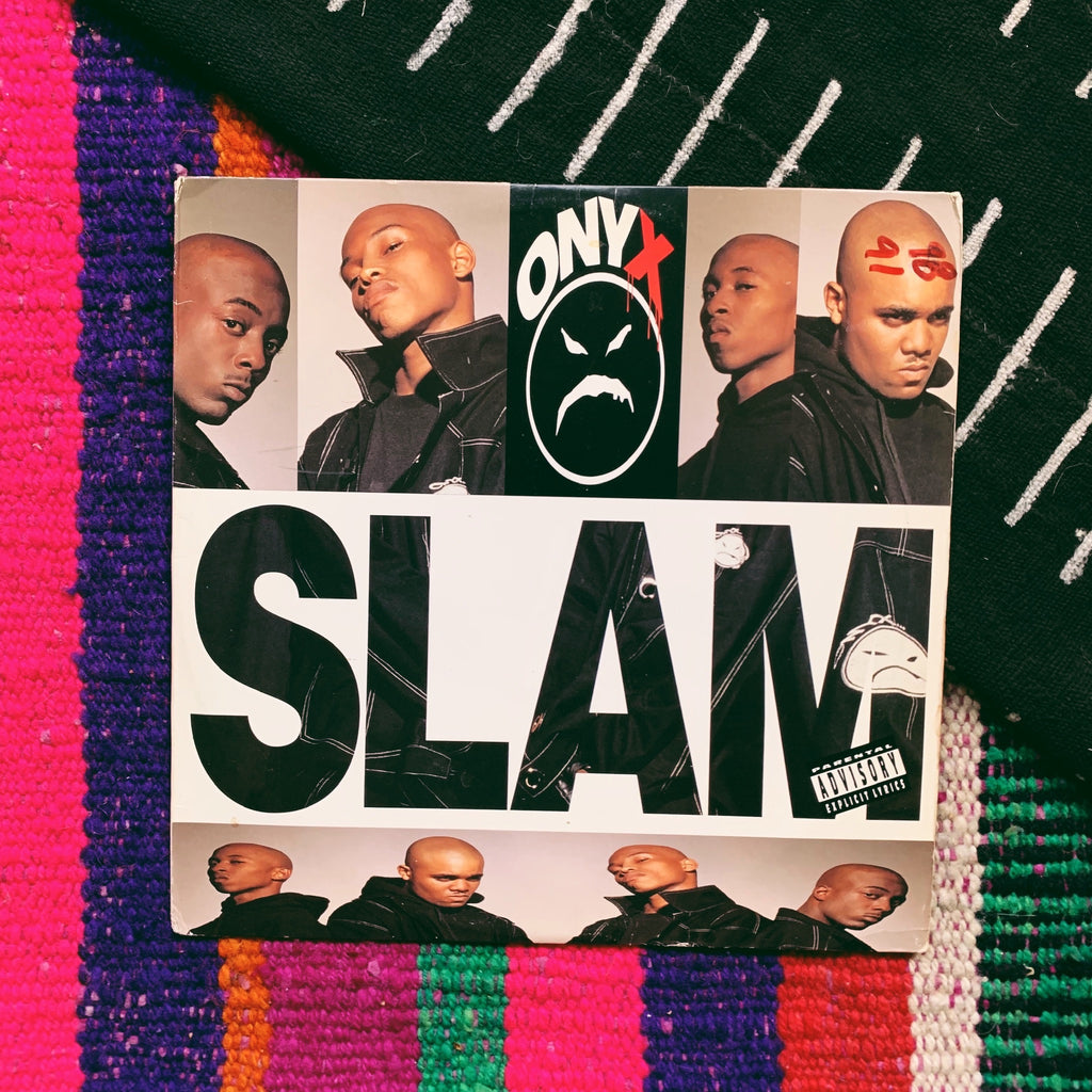 "Vinyl LP //  Onyx, ""Slam"" Record"