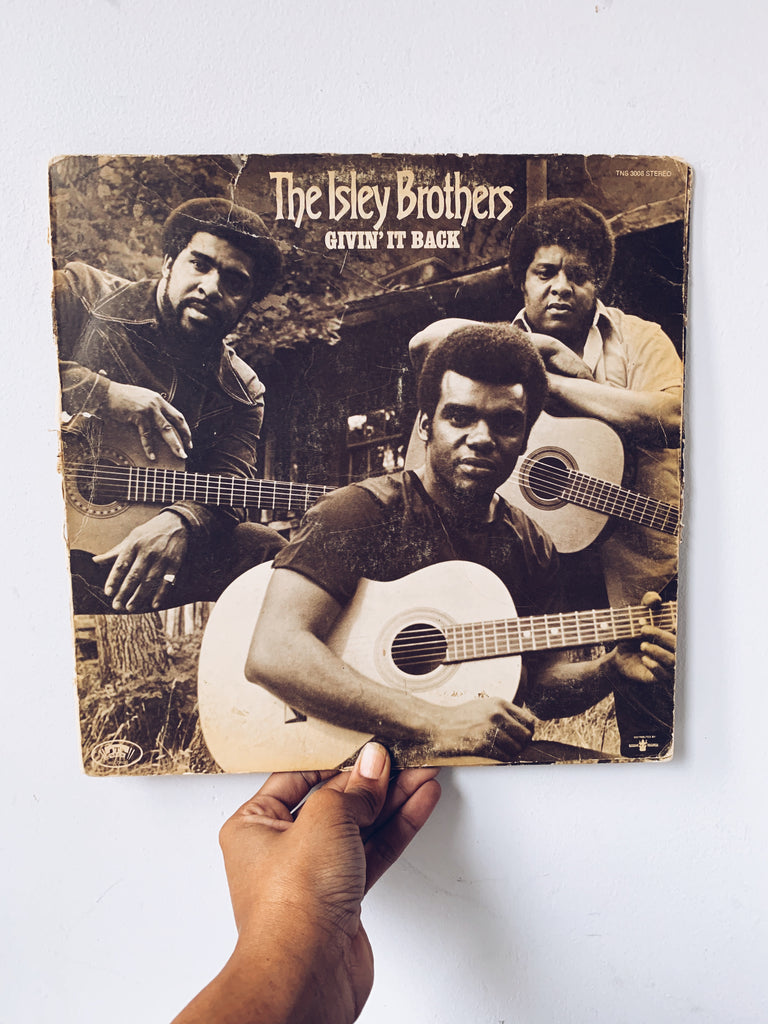 "Vinyl LP // ""Givin' It Back"" - The Isley Brothers (1971)"