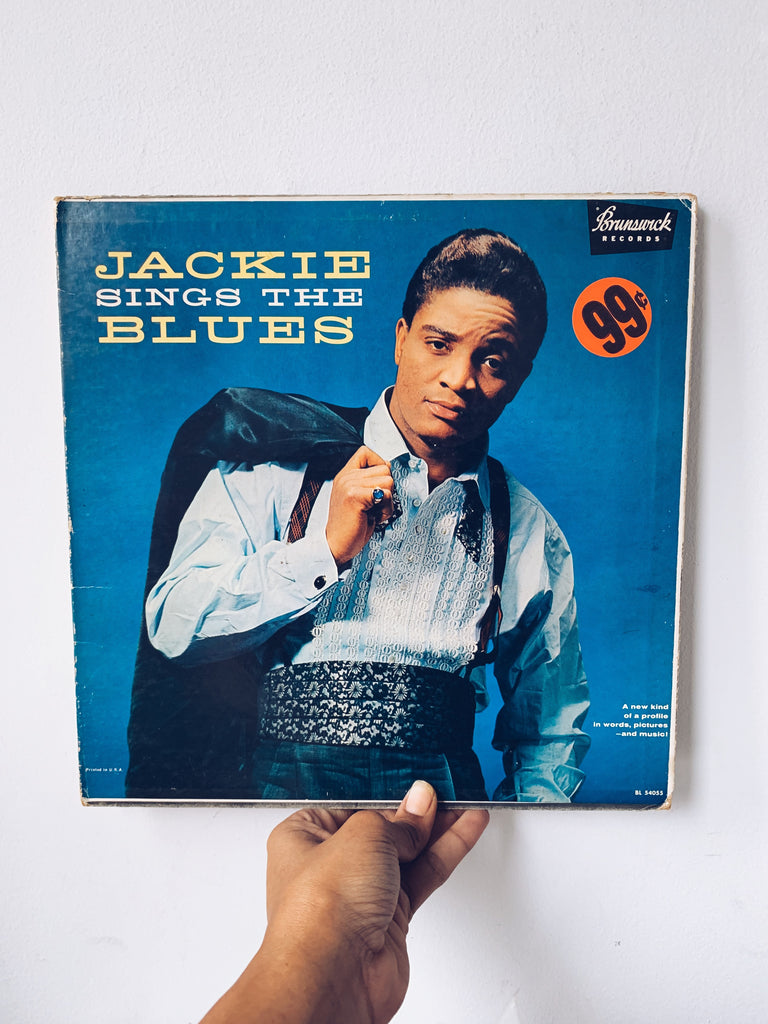 "Vinyl LP // ""Jackie Sings The Blues"" - Jackie Wilson (1959)"