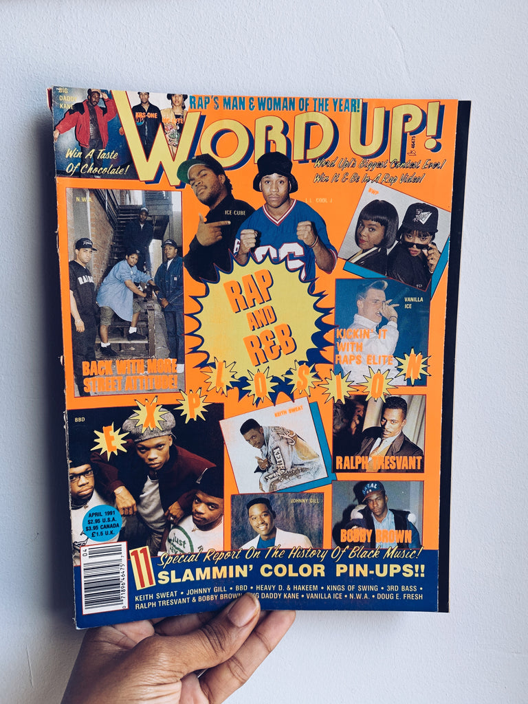 Word Up! Magazine // Hip Hop Teen Magazine (1991-1993)