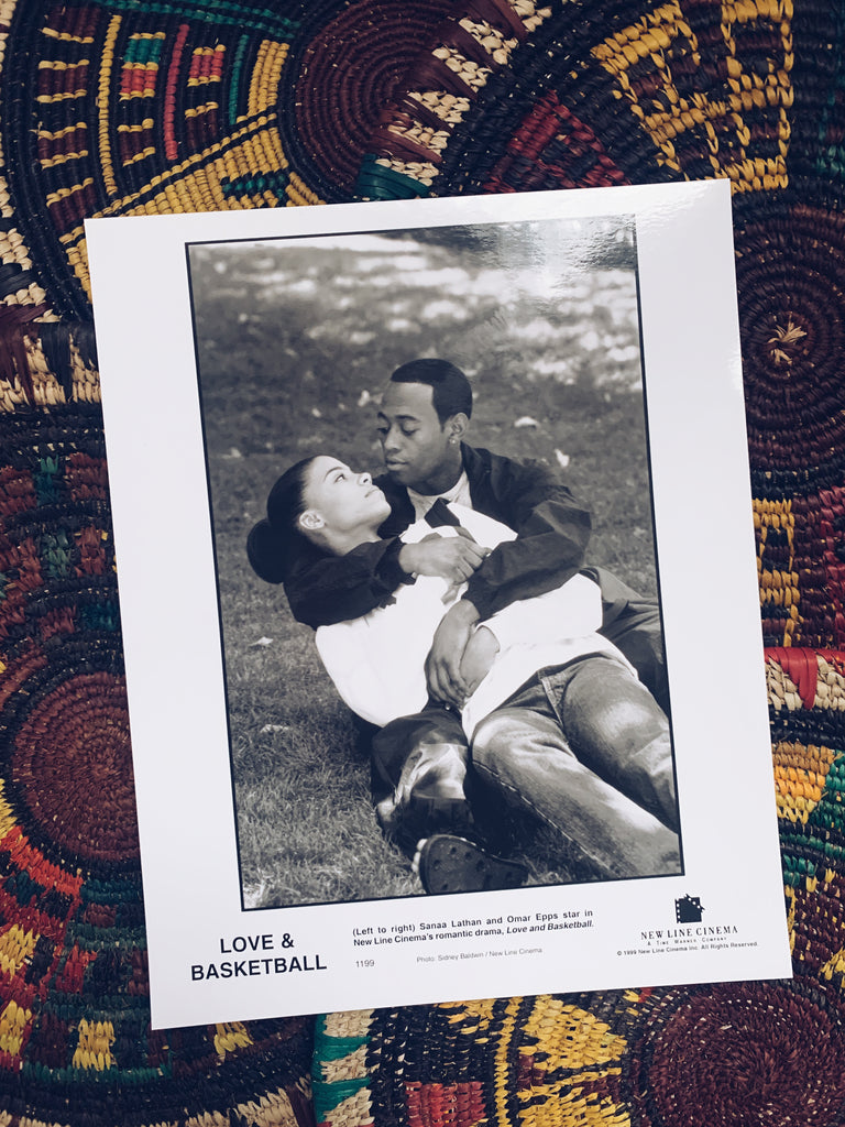 "Vintage ""Love & Basketball"" Still Promotional Photos"