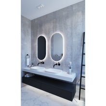 Load image into Gallery viewer, Ascona Oval Backlit Bathroom Mirror