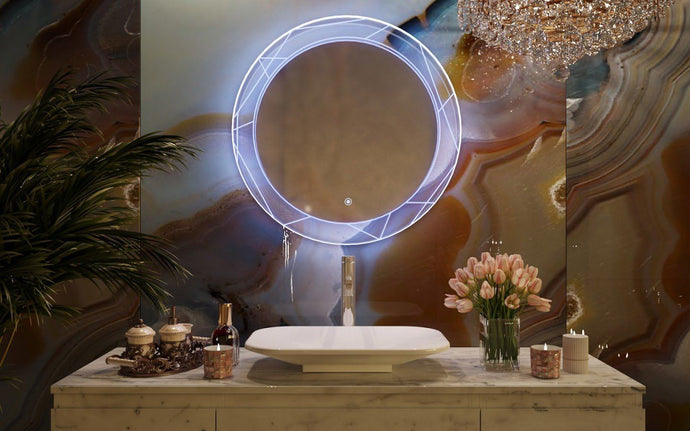 Belbagno Soho Backlit Bathroom Mirror