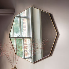 Load image into Gallery viewer, Cypsela Octagon Wall Mirror - Champagne