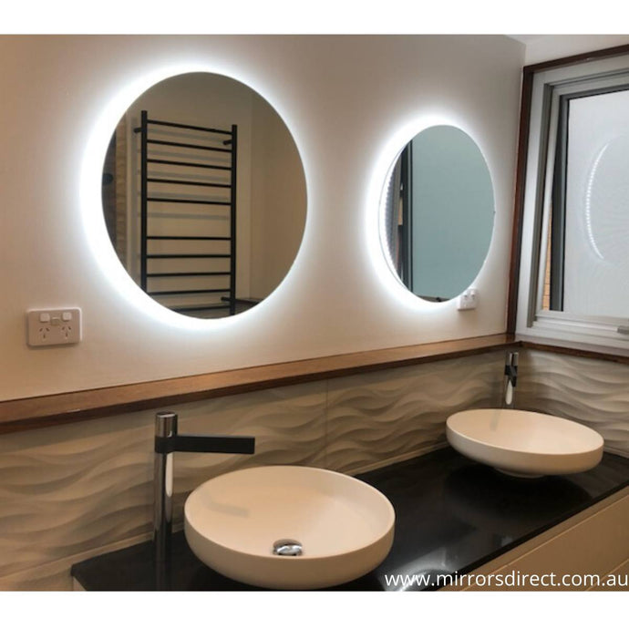 Elora Round Backlit Bathroom Mirror