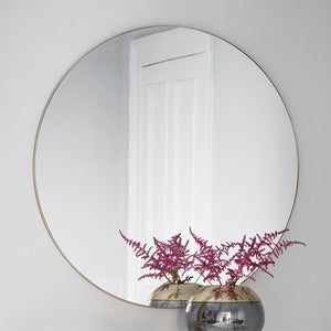 Franklin Champagne Wall Mirror