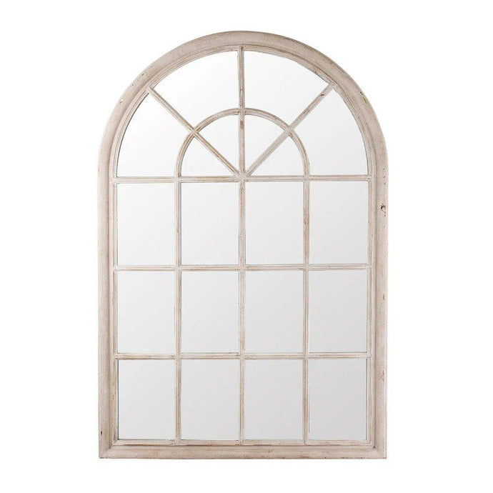 Hamptons Arched Mirror - Grey