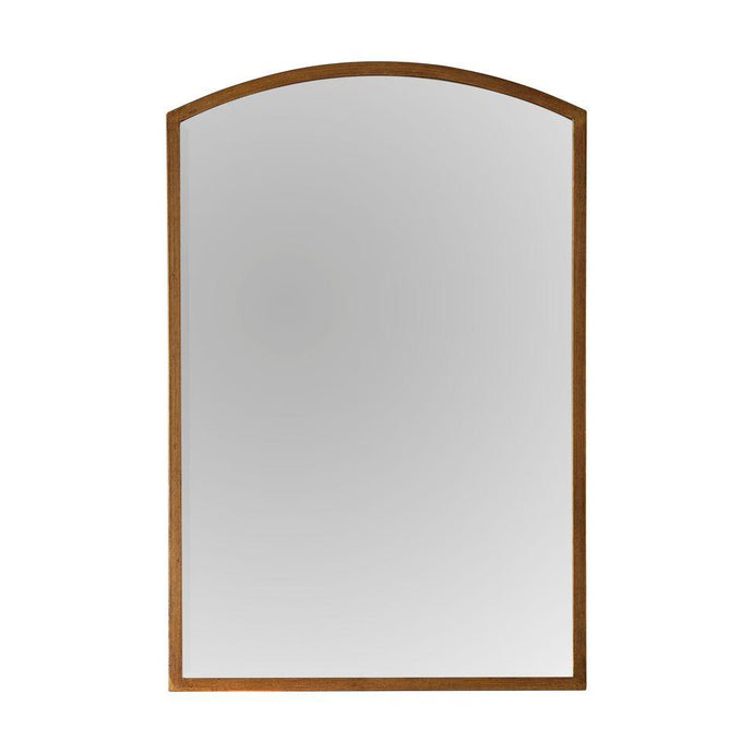 Helga Arched Gold Wall Mirror