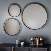 Load image into Gallery viewer, Irina Round Wall Mirror (2pk)