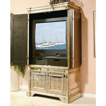 Load image into Gallery viewer, Mirrored Storage Cabinet Antique Ribbed