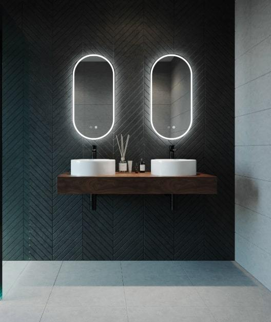 Remer Gatsby Backlit Bathroom Mirror