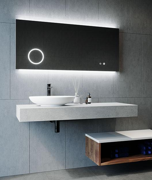 Remer Miro Magnifique Backlit Bathroom Mirror