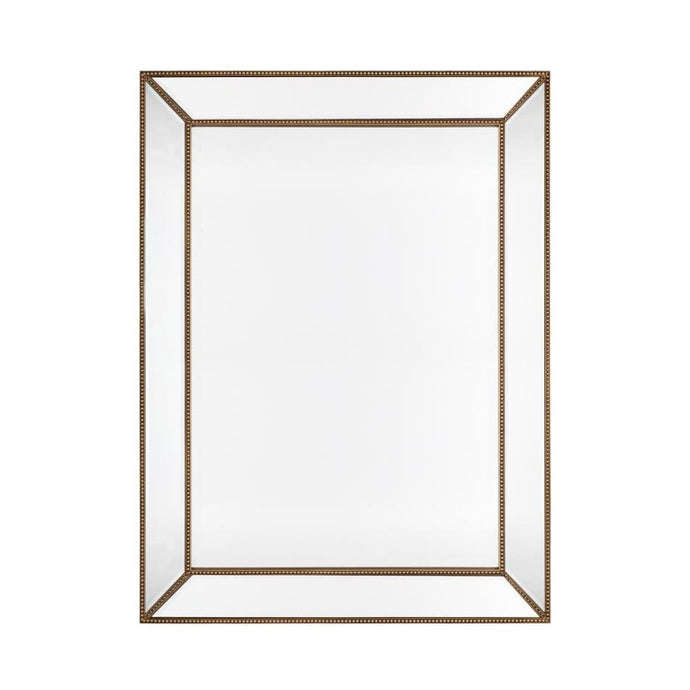 Zeta Wall Mirror - Antique Gold
