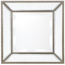 Load image into Gallery viewer, Zeta Wall Mirror - Antique Silver