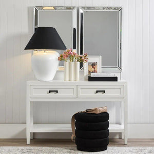 Zeta Wall Mirror - White