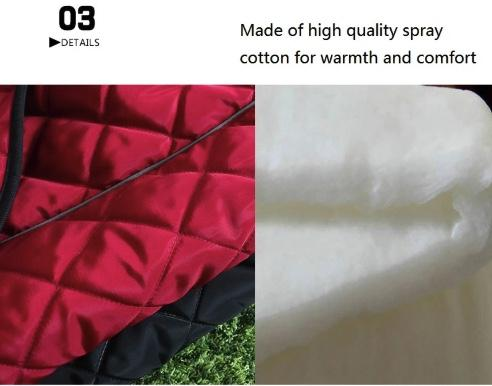 Warm Fleece Waterproof Dog Coat- BestPet