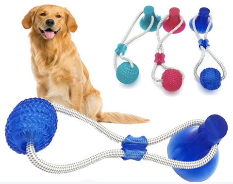 Dog Tug Toy With Suction Cup - BestPet