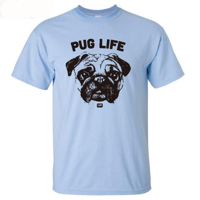 Pug Life 100% Cotton T-Shirt Multiple Designs! - BestPet