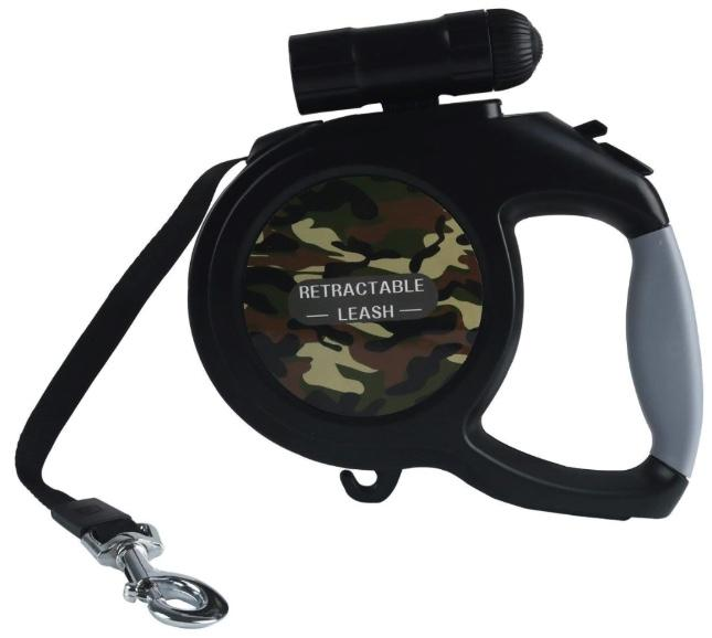 Retractable 8m Large Dog Leash with LED Torch! Pet Leads BestPet