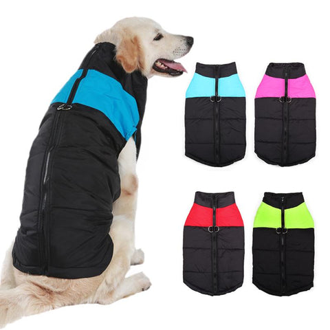 Waterproof Winter Dog Puffer Coat Dog Apparel BestPet