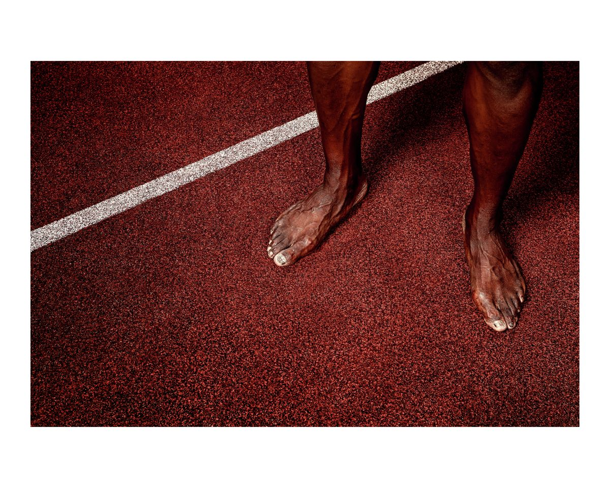 The Fastest Feet in the History of All Feet, Ever. Usain Bolt