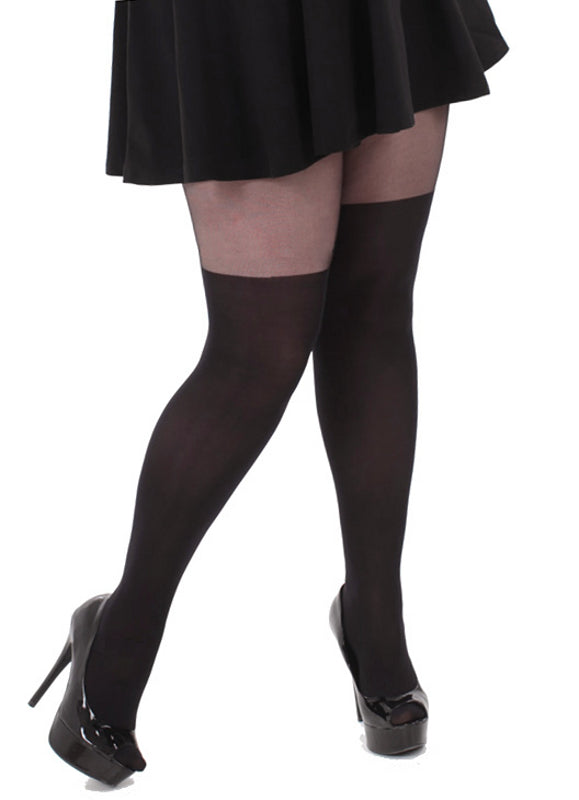 Mock Over Knee Tights
