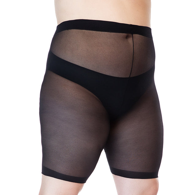 Sheer Anti Chafing Shorts (1X to 6X)